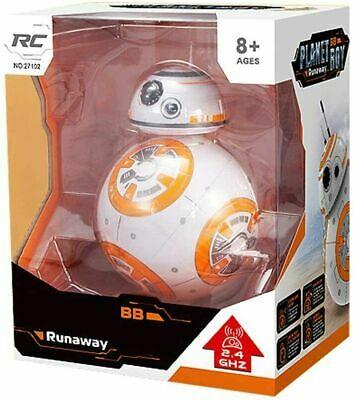 Robot Radiocomandato Planet Boy Runaway 2.4GHz Per Bambini RC Star War BB-8 - Jouet et jeux