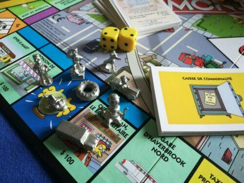 Monopoly Les Simpsons (100% complet ) - Jouet et jeux