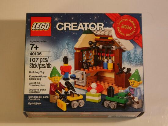 Lego 40106 - L'ATelier de Jouets - Neuf/New - Jouet et jeux